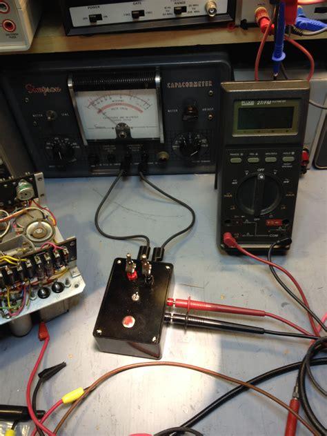 how to test capacitor leakage capacitor leakage test fixture steve s web junkyard steve byan