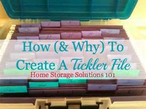 what s my take home pay how why to create a tickler file