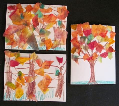 tissue paper tree craft 18 best images about cards made by on