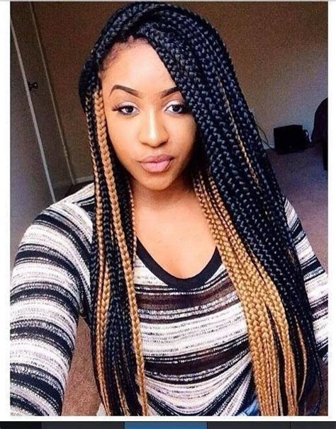 colored box braids colored box braids going box braids