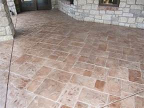 resurfacing concrete patio concrete patio with sted concrete overlay modern