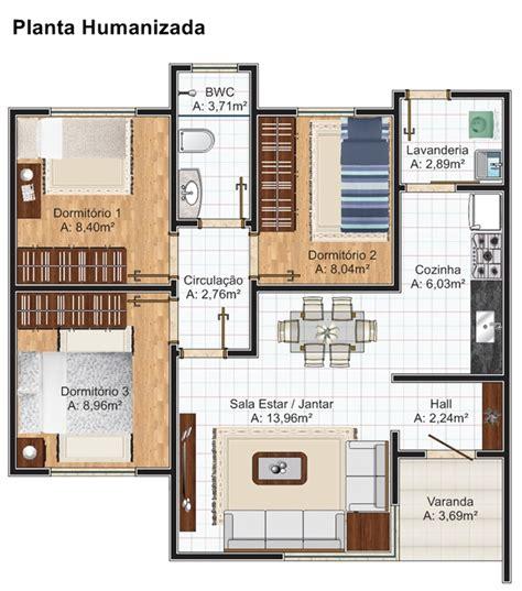 planta casas planta de casa recife 2 quartos de solteiro e 1 quarto de