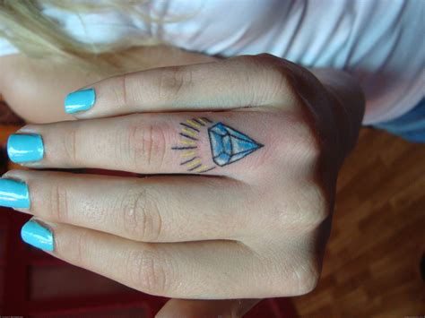 diamond tattoo on hand tattoos designs ideas and meaning tattoos for you
