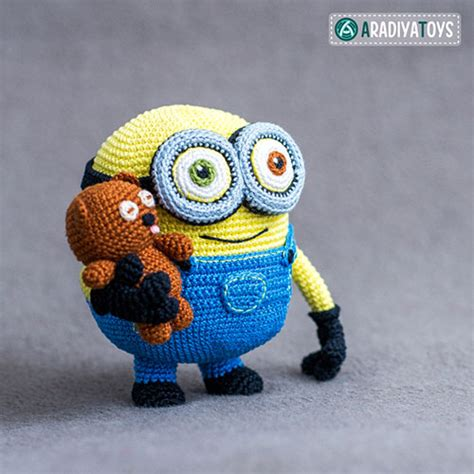 amigurumi minion minion bob and tim amigurumi pattern