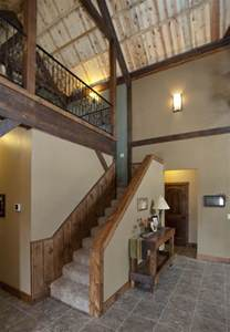 Two Story Pole Barn 17 Best Ideas About Barn House Interiors On Pinterest