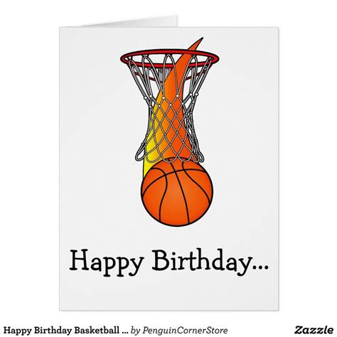 printable birthday cards basketball as 25 melhores ideias de happy birthday basketball no