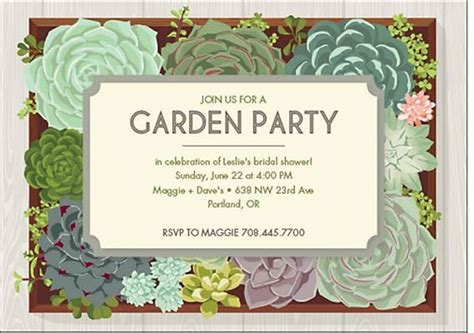 bridal shower garden themed 2 invitations archives ultimate bridesmaid