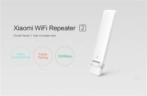 Xiaomi Wifi Range Extender Repeater Speed 300mbps Ver 2 xiaomi wifi repeater lifier extender 2 signal enhancement wireless router 11street malaysia