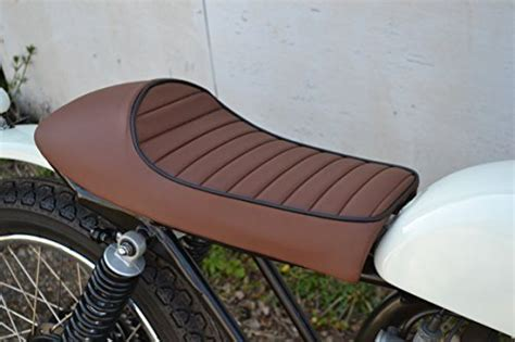 diy motorcycle seat universal brown seat for cafe racer streetfighter
