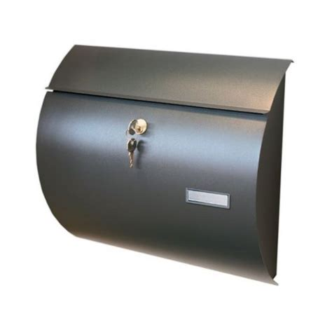 cassetta postale ghisa cassetta postale in lamiera alubox venere colore ghisa