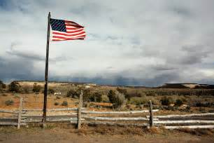 american landscaping american flag landscape photograph by mccarron