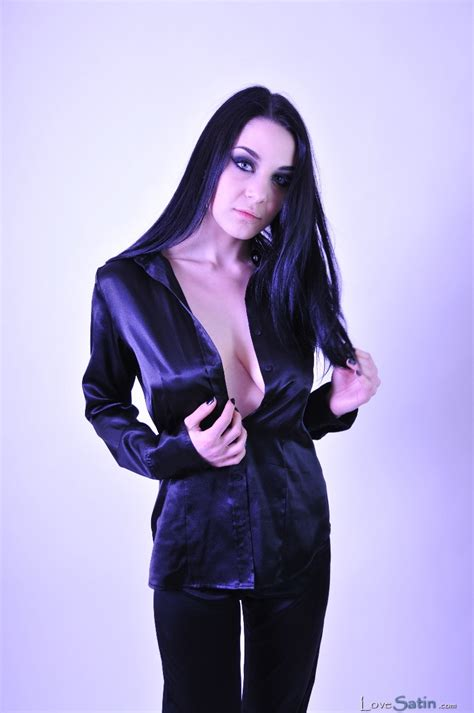 satin black lorelei black satin blouse satin lovesatin