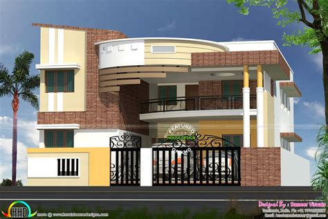 Indian Modern House Plans Modern Contemporary South Indian Home Design Kerala Home Design And Floor Plans