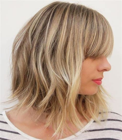 med blumt hairstyles 80 sensational medium length haircuts for thick hair