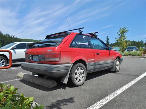 seattle s parked cars 1988 mazda 323 gtx