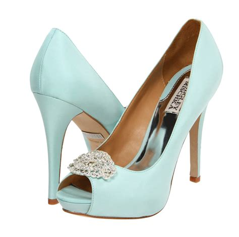 Wedding Shoes In Blue by Blue Wedding Shoes Bitsy