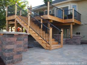 Backyard Deck Ideas Deck Patio Mn Backyard Ideas Custom Designed Install Flickr