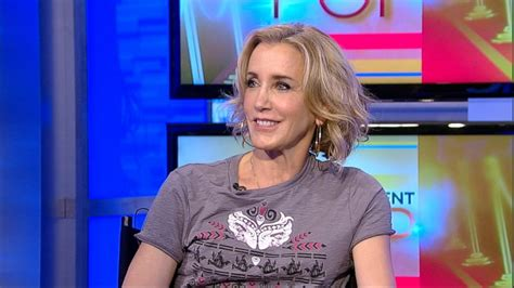 really did felicity huffman have cancer felicity huffman on breast cancer awareness video abc news