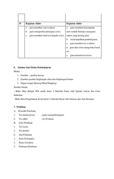 Pembelajaran Kelas Rangkap rencana pelaksanaan pembelajaran kelas rangkap