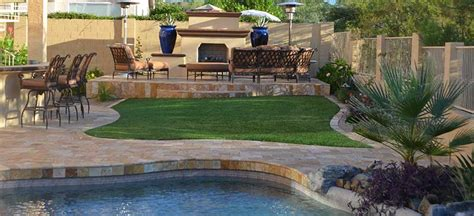 backyard anthem swimming pools spas and landscaping in anthem az