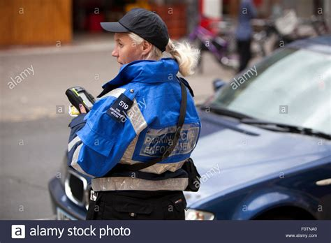 Civil Officer by Civil Enforcement Officer On Parking Duty On Great