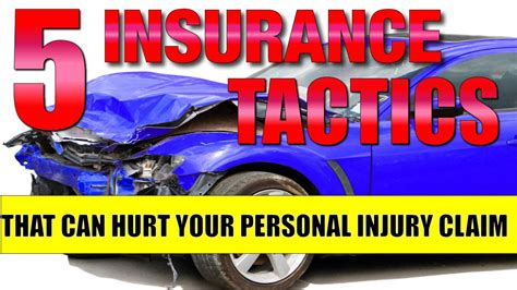 Car Insurance Personal Injury 5 by Personal Injury Lawyer 5 Tactics Insurance Adjusters May