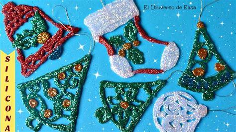 adornos navide 241 os para el 193 rbol de navidad con silicona