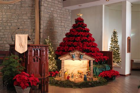 st joan of arc catholic church christmas decorations