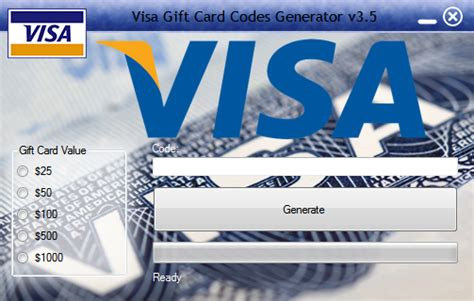 Free Visa Gift Card Codes Generator - free download visa gift card generator 2017 no survey