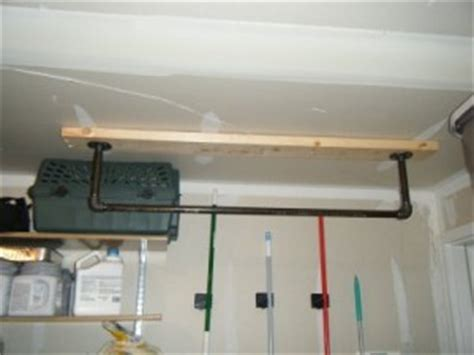 Garage Pull Up Bar Ceiling by Front Ceiling Mount Make A Pull Up Bar Make It Longer