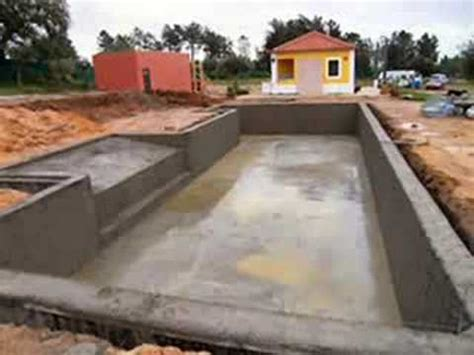 how to make a swimming pool in your backyard the making of the swimming pool of monte naturista o bar 227 o