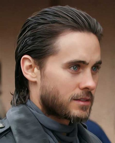 15 best slicked back hairstyles for mens hairstyles 2017