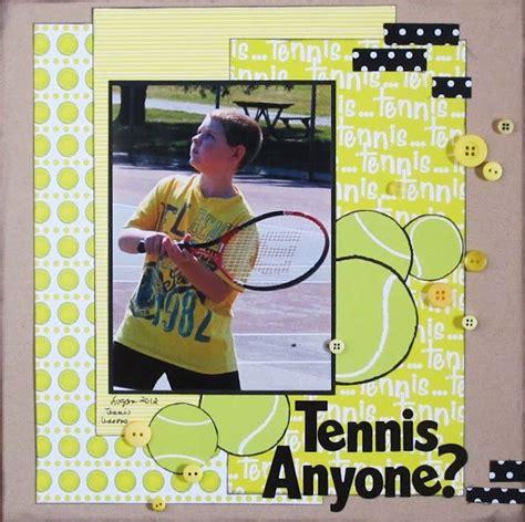 scrapbook layout program 1000 images about tennis scrapbook layouts on pinterest