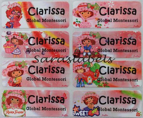 Cetak Stiker Nama stiker label nama ln riana saraswati