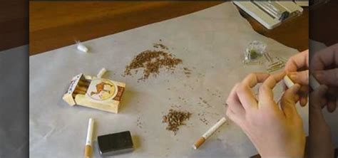 How To Make A Paper Cigarette - how to make a true marijuana cigarette aka joint