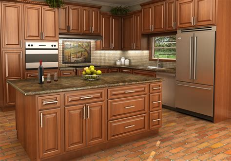 Maple Kitchen Cabinet Maple Stained Cabinets The Right Choice In Stock Kitchens