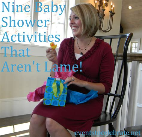 Baby Shower And Activities by Baby Shower Activities Events To Celebrate