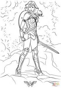 coloring pages wonder woman wonder woman coloring page free printable coloring pages