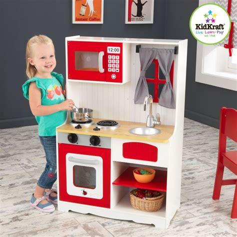 cuisine bois enfant kidkraft kidkraft cuisine de cagne enfant en bois achat