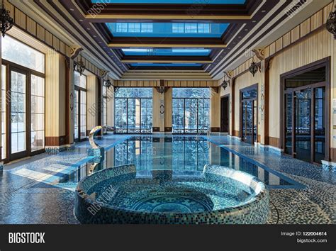 luxury house plans with indoor pool interior design home indoor pool image photo bigstock