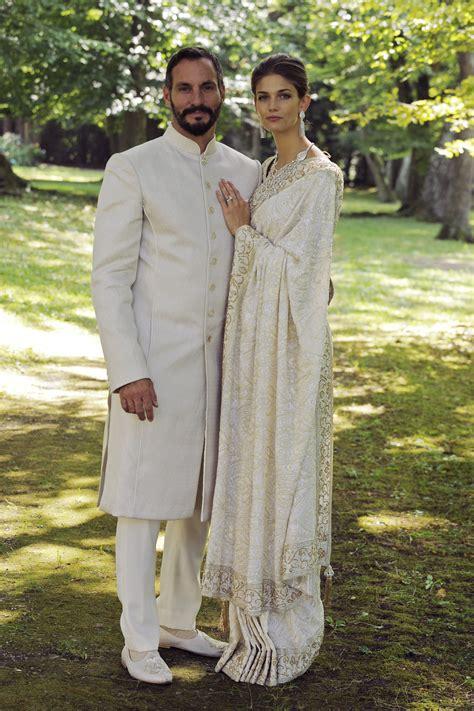 Kendra Spears Aga Khan   manav gangwani designs for rahim aga khan s royal wedding