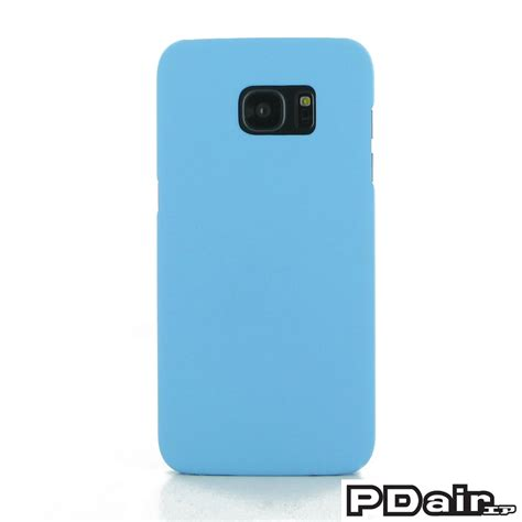 Smile Samsung Galaxy S7 Blue Light samsung galaxy s7 edge rubberized cover light blue pdair