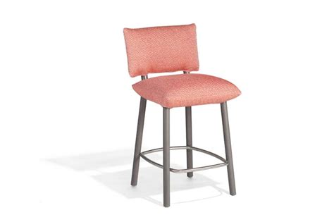 Fabric Upholstered Counter Stools by Upholstered Counter Stool Pillow Collection By Potocco