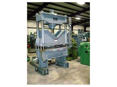Wison Hydraulic Press 10 Ton used 75 ton used k r wilson hydraulic press for sale 78124