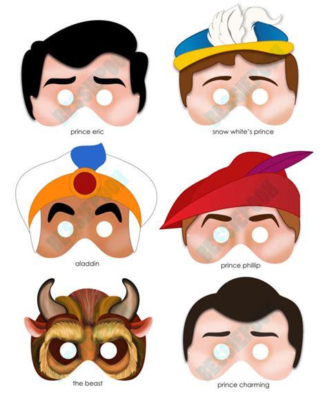 printable masks princess 8 best images of printable princess masks halloween mask