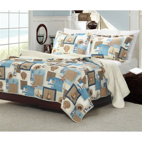nautical bedroom sets nautical brown blue beach themed bedding for adults