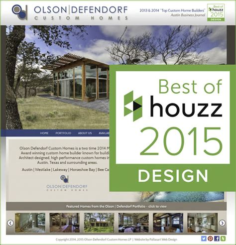 best home builder website design wow best of houzz 2015 for design pallasart web design news austin tx