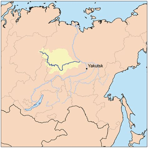 map of russia with cities and rivers top 10 rivers in russia