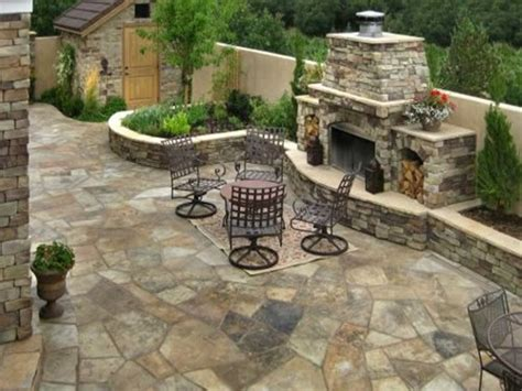 patio flagstone designs patio landscaping designs rustic flagstone patio outdoor