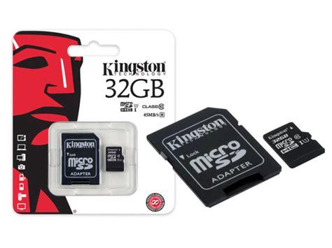Micro Sd Kingston 32 Gb microsdhc 32gb class 10 kingston sdc10g2 uhs i tarjeta memoria